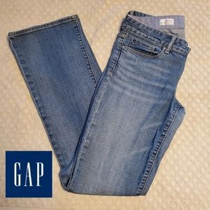 GAP sexy boot women's jeans size 28 Tall